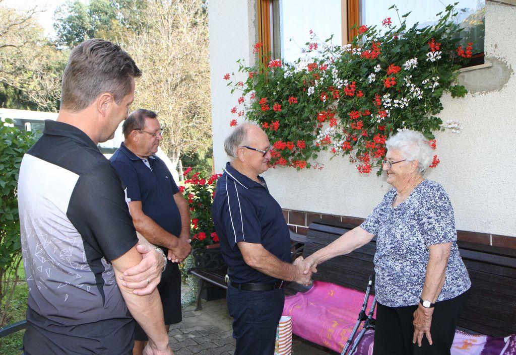 90 let Hilde Krajnc iz Dobriča
