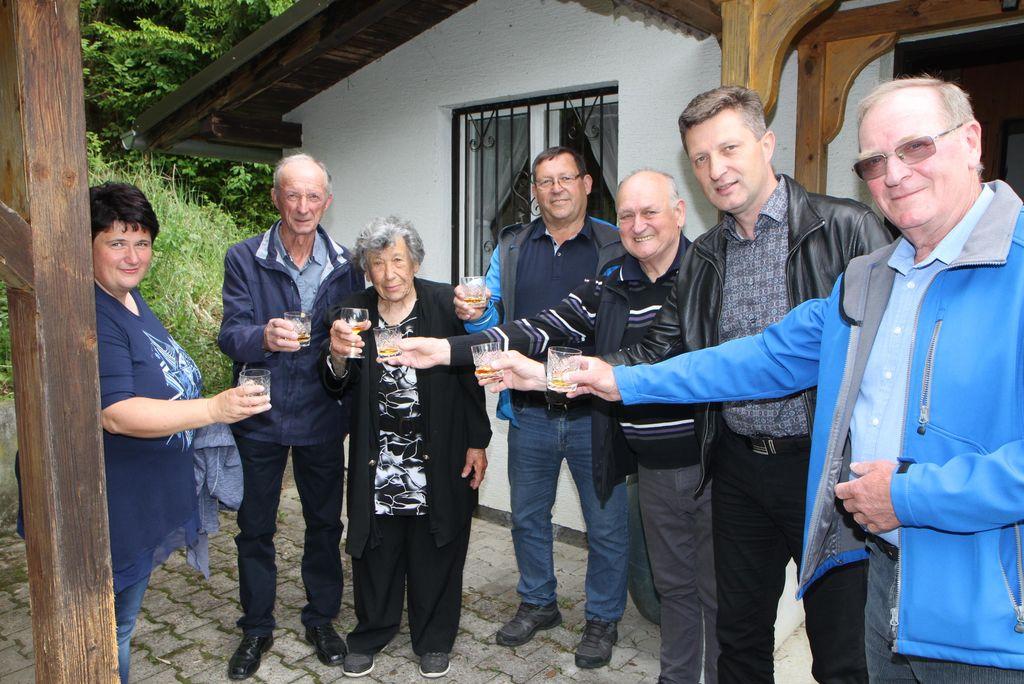 90 let Sonje Melanšek iz Dobriča