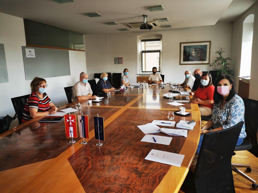 Prvi sestanek delovne skupine projekta Občina po meri invalidov