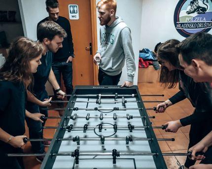Druženje in zabava v Mladinskem društvu Polzela