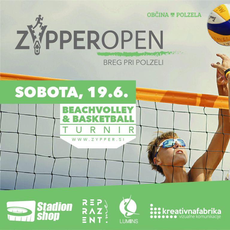 zYpper Open - Beachvolley & Street Basket turnir