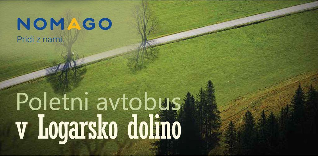 Poletni avtobus v Logarsko dolino