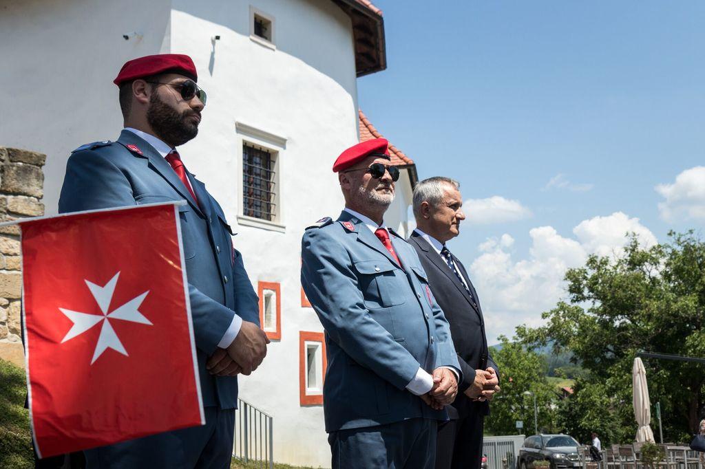 Najvišji obisk na Polzeli do sedaj - Uradni obisk velikega mojstra Suverenega malteškega viteškega reda v Sloveniji