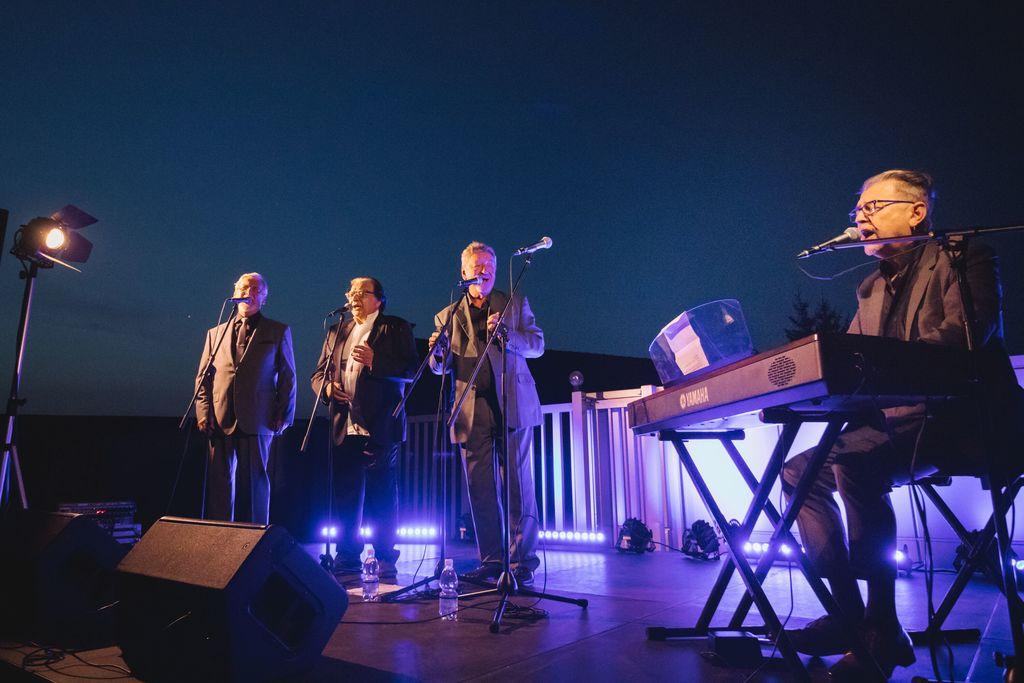 New Swing Quartet med nastopom na gradu Komenda