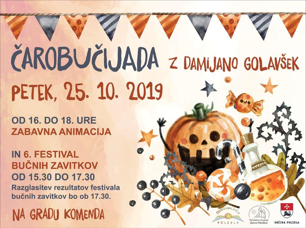 Čarobučijada in 6. festival bučnih zavitkov