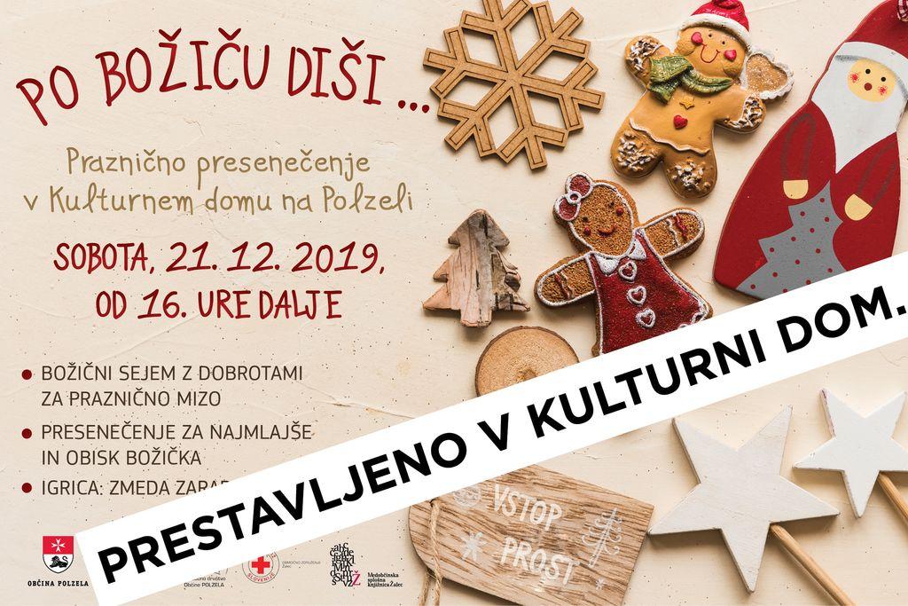 Prihod Božička v Kulturnem domu