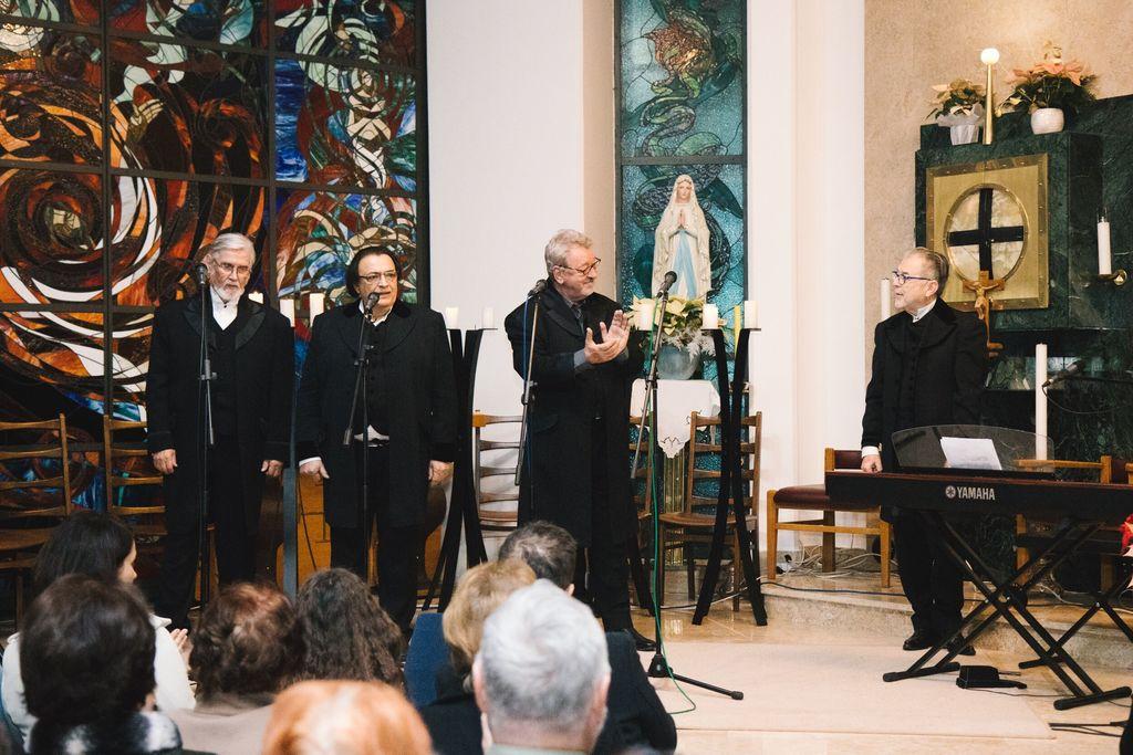 Božični koncert z New Swing Quartetom