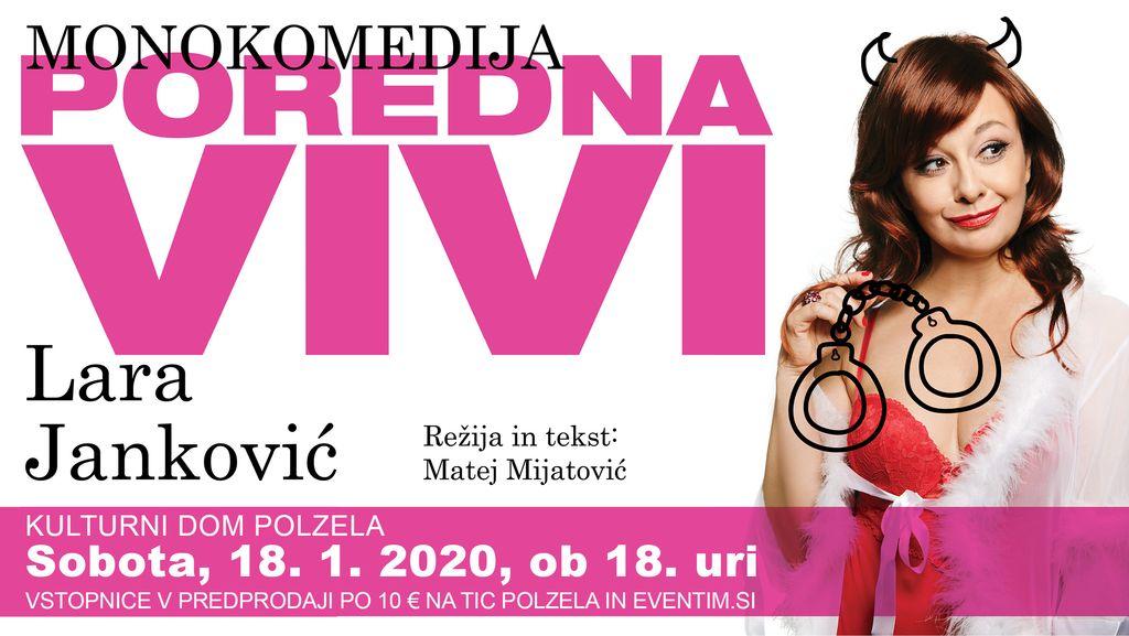 Monokomedija Poredna Vivi - Lara Janković
