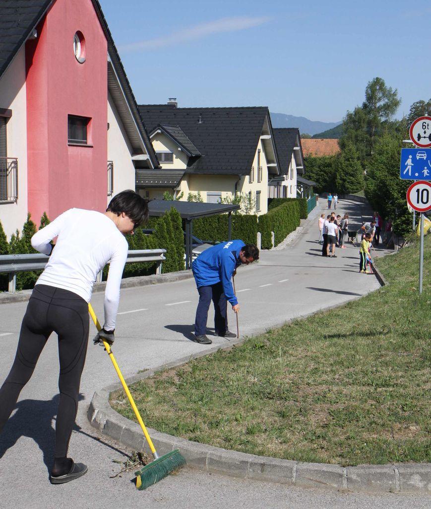 Očistili Občino Polzela skupaj, a seveda narazen in ob upoštevanju vseh preventivnih ukrepov