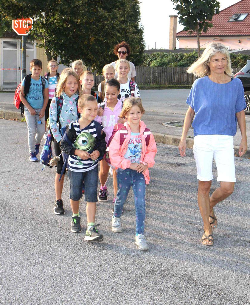 Druga skupina pešbusa