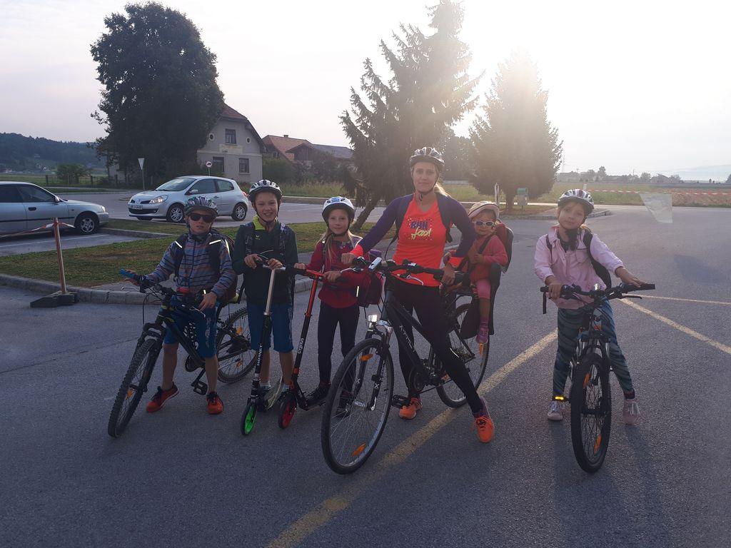 Prihod v šolo z kolesom