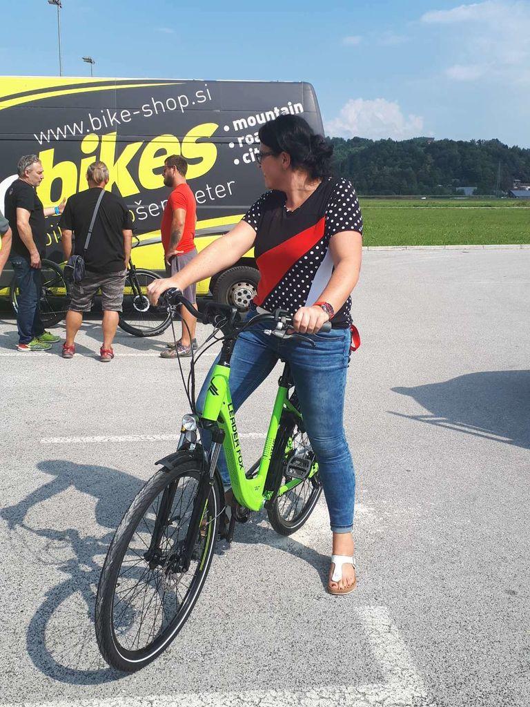 Test električnega kolesa