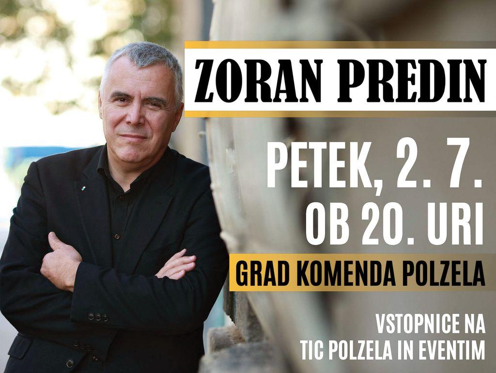 Poletni večer na gradu Komenda z Zoranom Predinom - 2. julij 2021