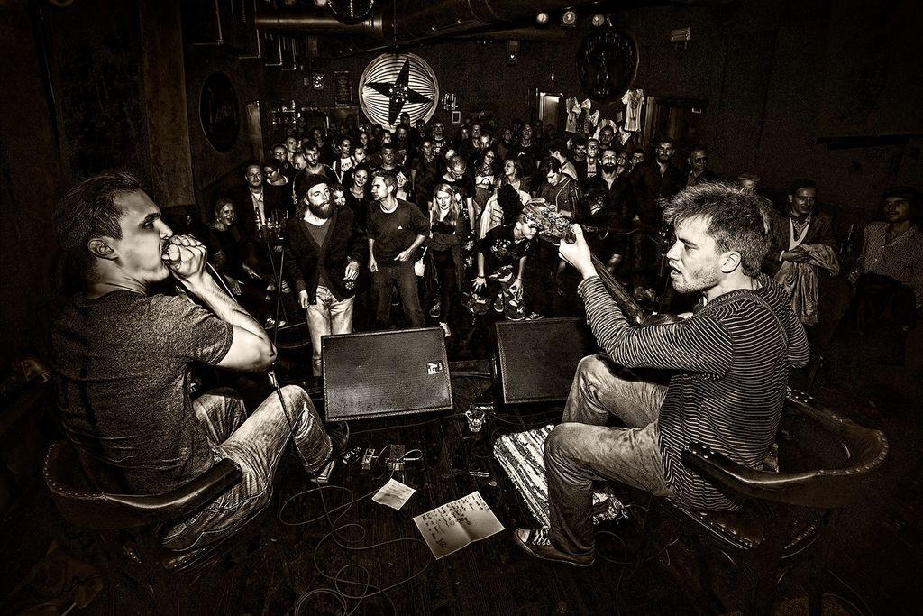 POLETJE V ŠIŠKI: Samuel Blues & Miha Erič @ Kino Šiška
