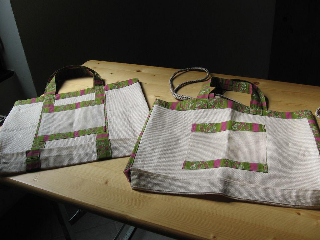 Lično izdelani torbici (foto: D. Schilling)