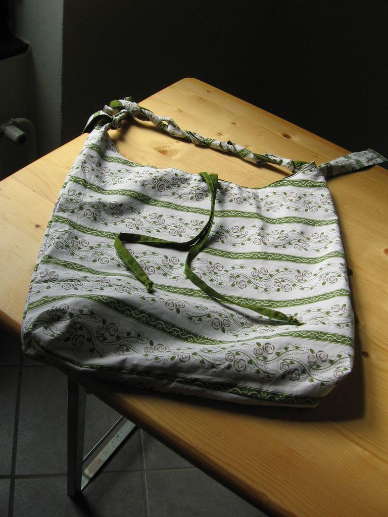 Lično izdelana torbica. Foto: D. Schilling
