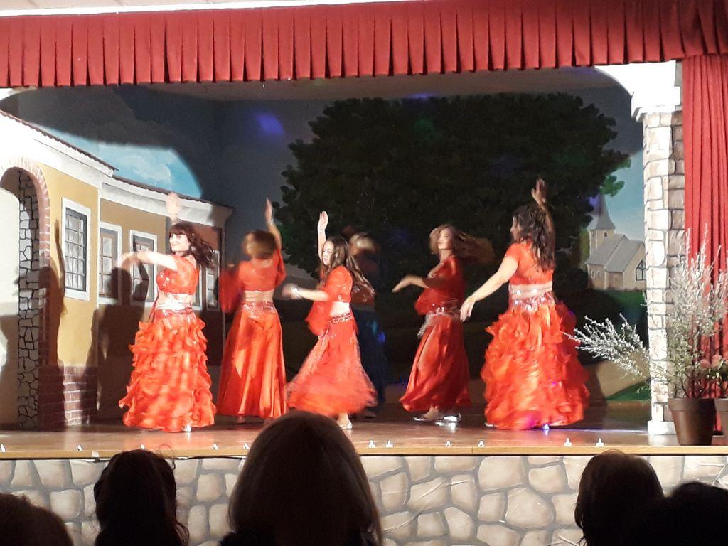 Orientalski plesi skupine Sayyidah.