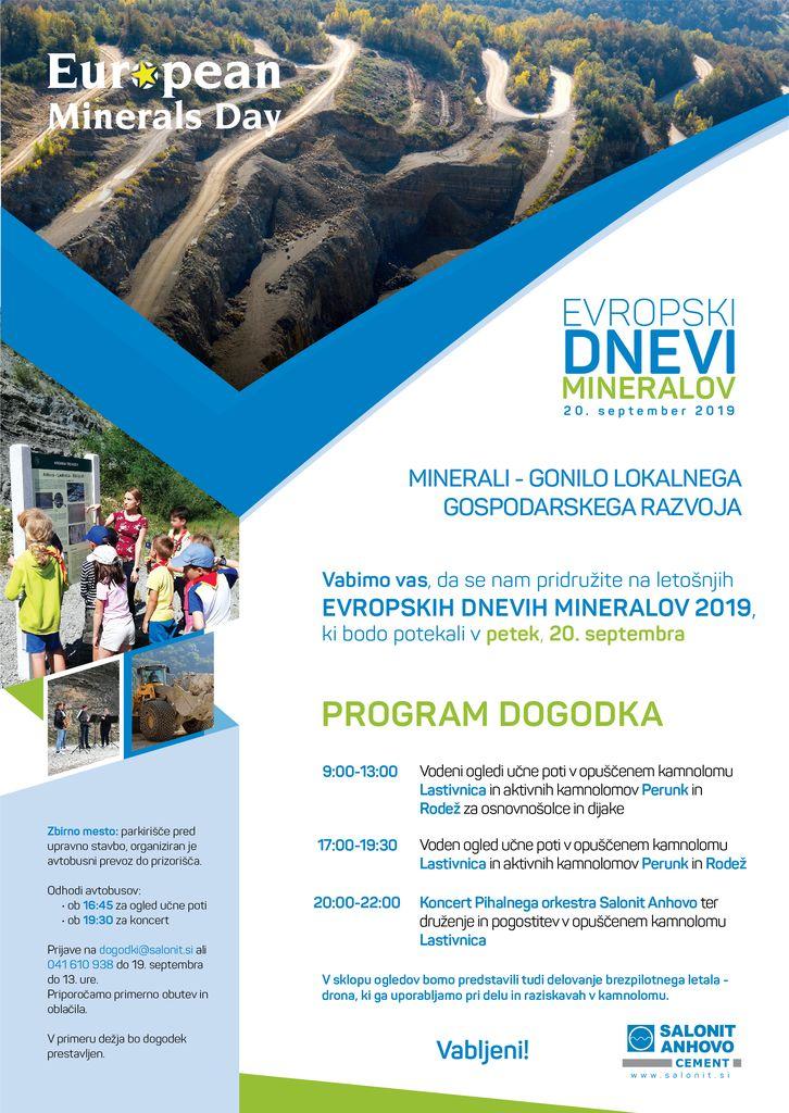 Evropski dnevi Mineralov v Salonitu