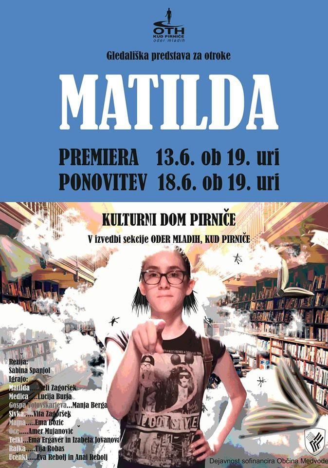 Premiera: MATILDA
