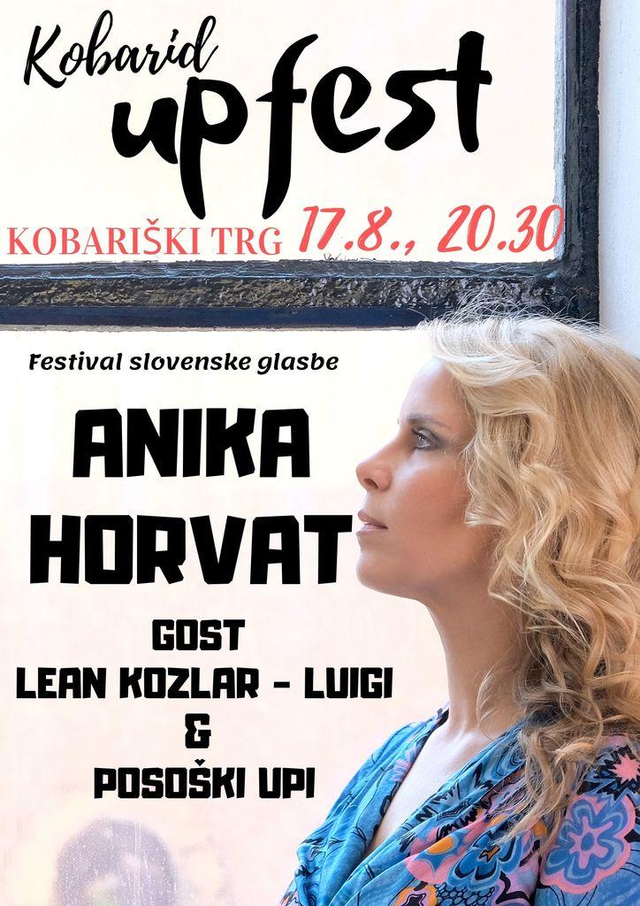 Koncert Anike Horvat, gost Lean Kozlar Luigi in mladi posoški upi