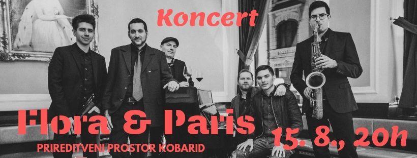 Koncert Flora & Paris