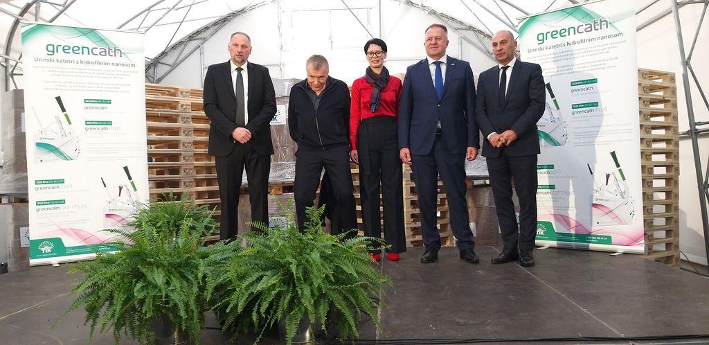 Podjetje TIK z ministrom obeležilo 60 let delovanja