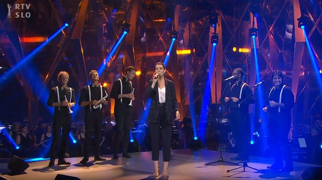 Nastop Vudlenderjev v oddaji Popevka 2019 na RTV SLO1