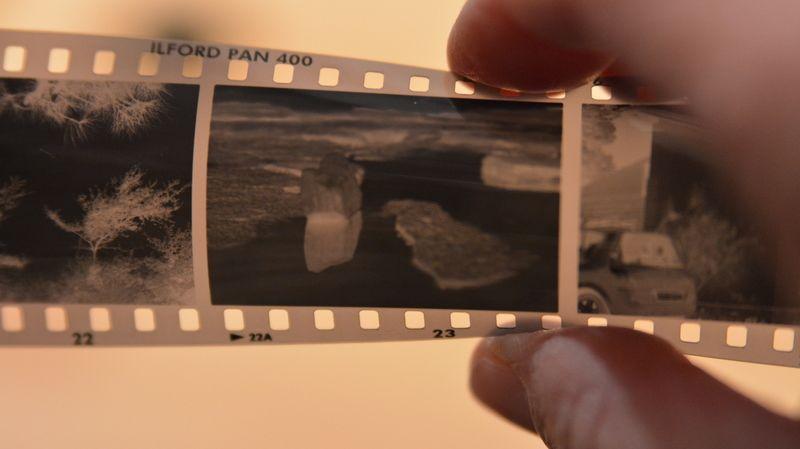Delavnica Analogne fotografije in razvijanje črnobelih filmov