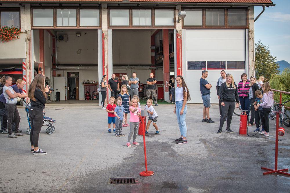 Predstavitev gasilskih aktivnosti