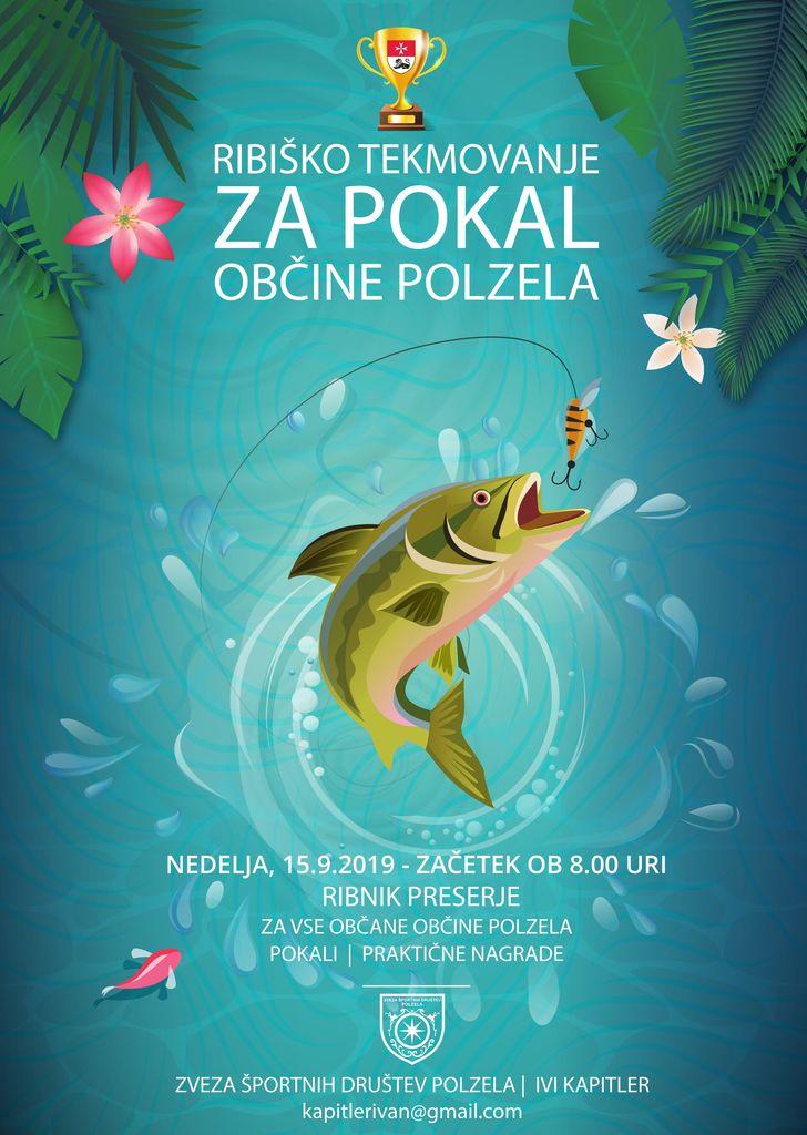 Ribiško tekmovanje 2019 na ribniku Preserje