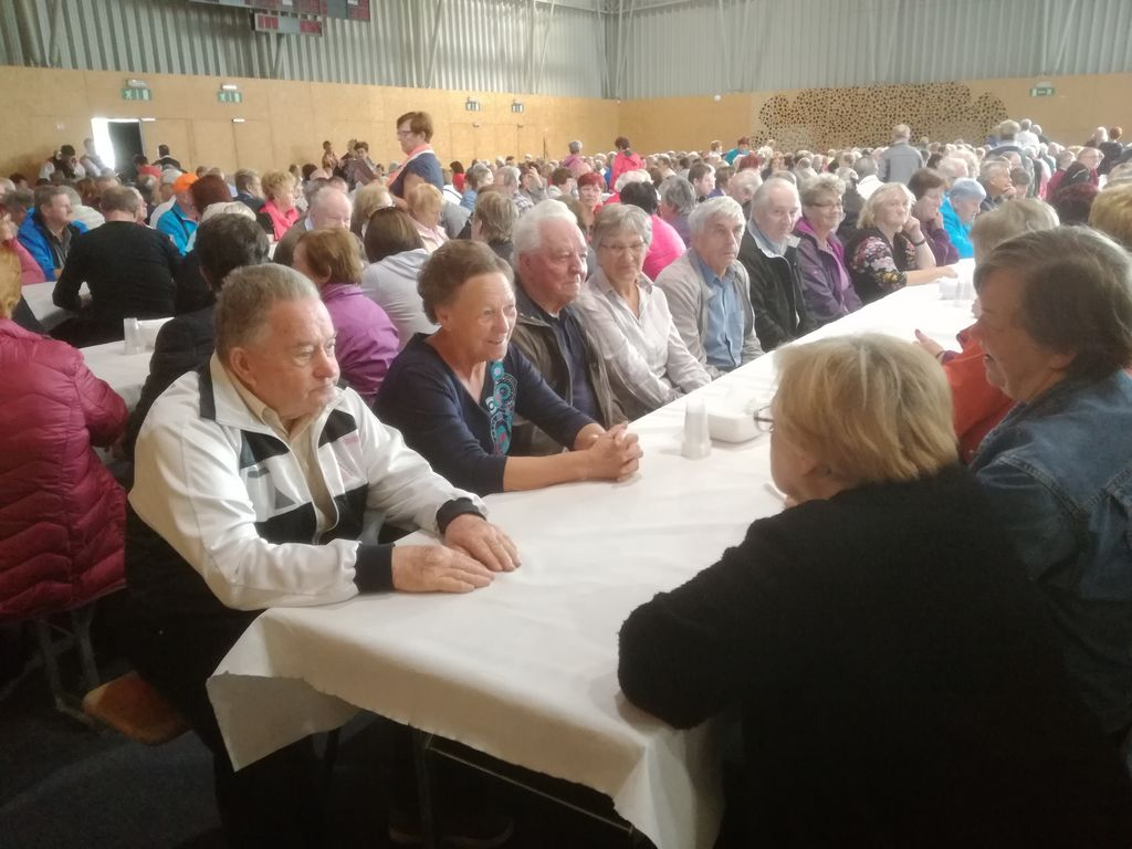 Srečanje upokojencev Pokrajinske zveze Društva upokojencev Celje
