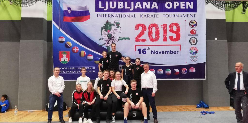 11-članska ekipa, ki je zastopala Karate klub Polzela, je osvojila sedem odličij.