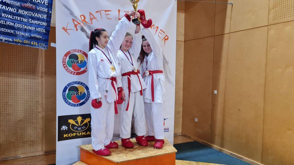 Zala Kramberger državna ekipna prvakinja