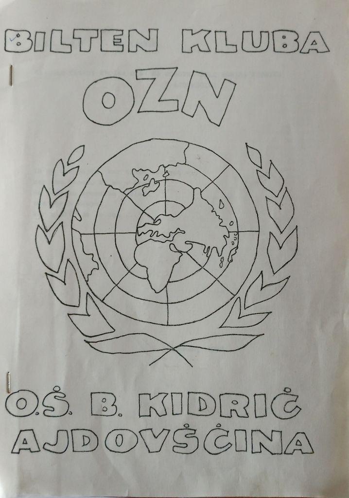 Krožek OZN na osnovni šoli v Ajdovščini