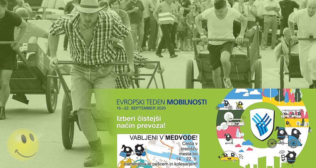 Potujoča razstava »Sniške gare« - Evropski teden mobilnosti 2020 v Medvodah
