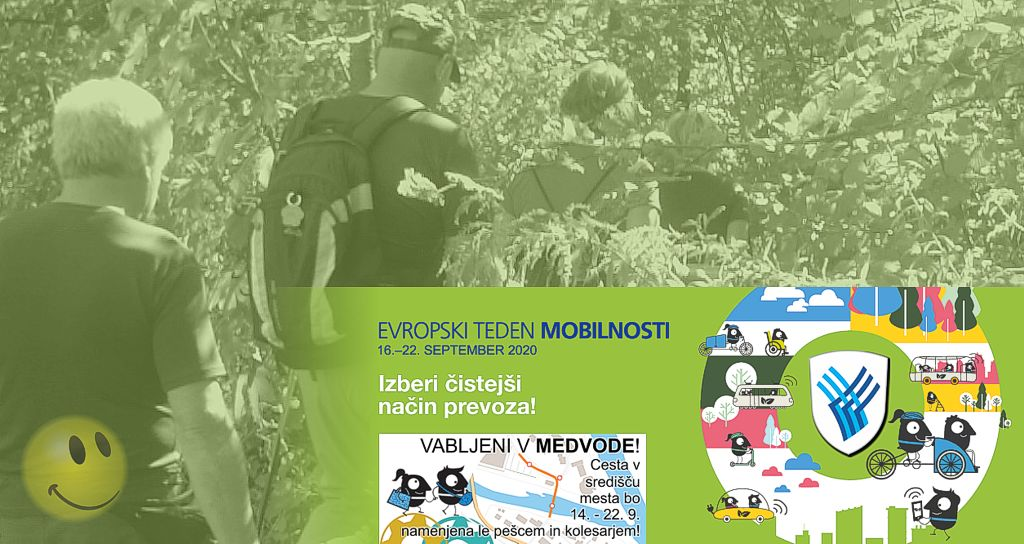 Pohod med vodami - Evropski teden mobilnosti 2020 v Medvodah