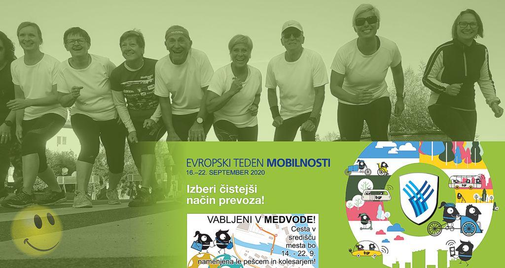 Medvoški trimček - Evropski teden mobilnosti 2020 v Medvodah