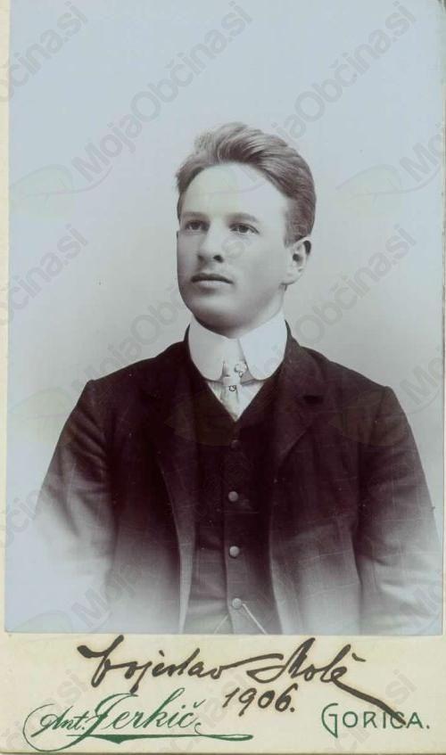 Mladostni portret Vojeslava Moleta, fotografija s spletne strani: Wikimedia