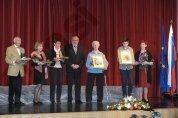 Prejemniki občinskih nagrad in priznanj za leto 2016, foto: atelje Pavšič