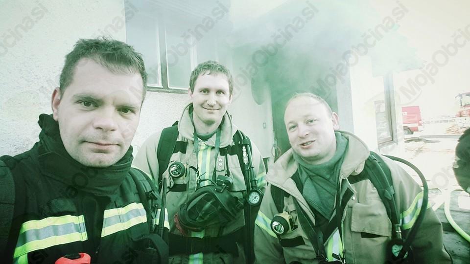 Požari v hišah in dan odprtih vrat blejskih gasilcev