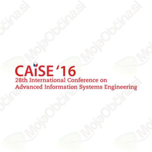 28. Mednarodna konferenca o modernem razvoju informacijskih sistemov CAiSE