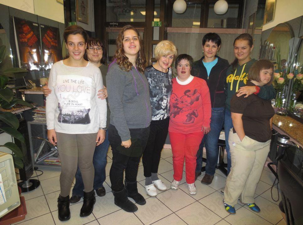 Obisk frizerskega salona v Ajdovščini