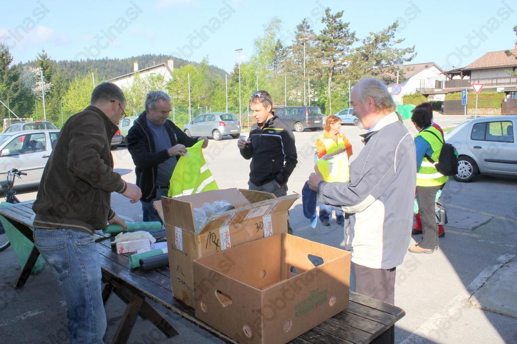 Manj odpadkov, manj prostovoljcev