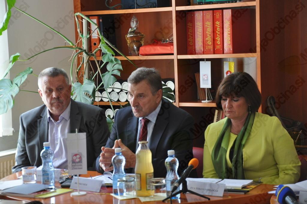 Marjan Borovnik, Branko Meh in Eva Štraus Podlogar