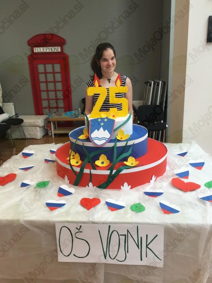 Osnovna šola Vojnik sodelovala na natečaju ob 25-letnici samostojne Slovenije