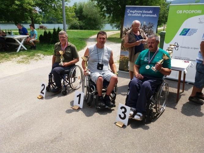 Državno prvenstvo invalidov v lovu rib s plovcem 2016
