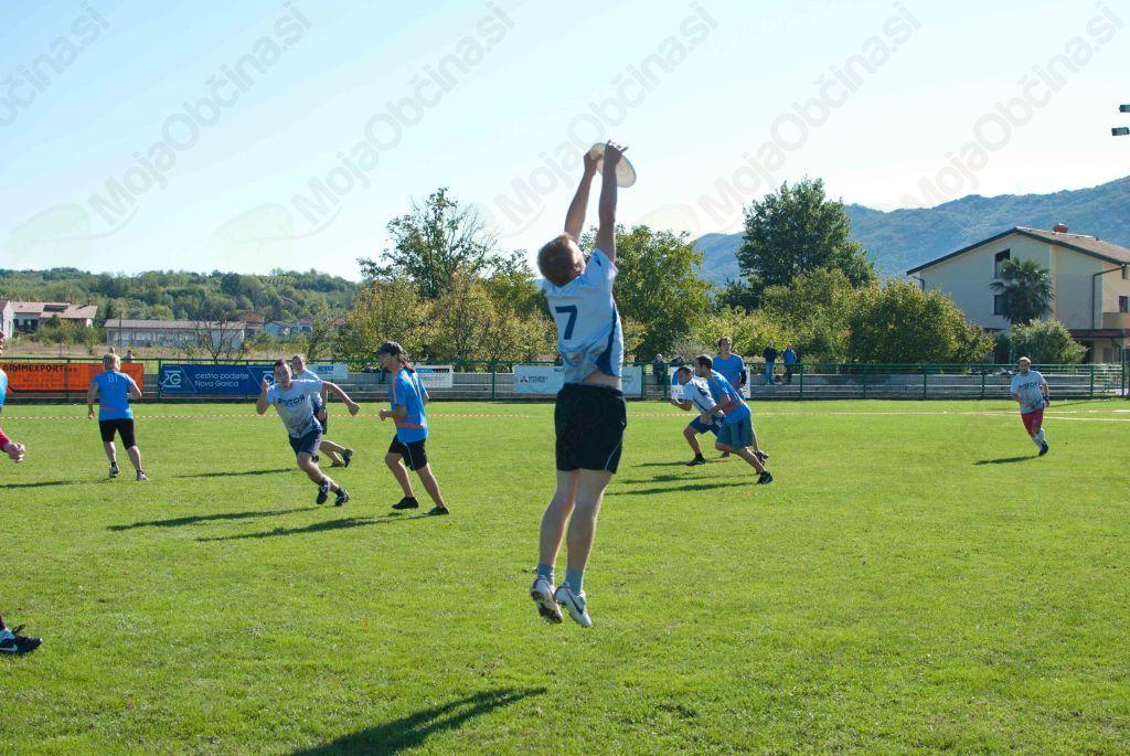 Frizbi velja za šport študentov. Foto: osebni arhiv Andreja Gerbeca