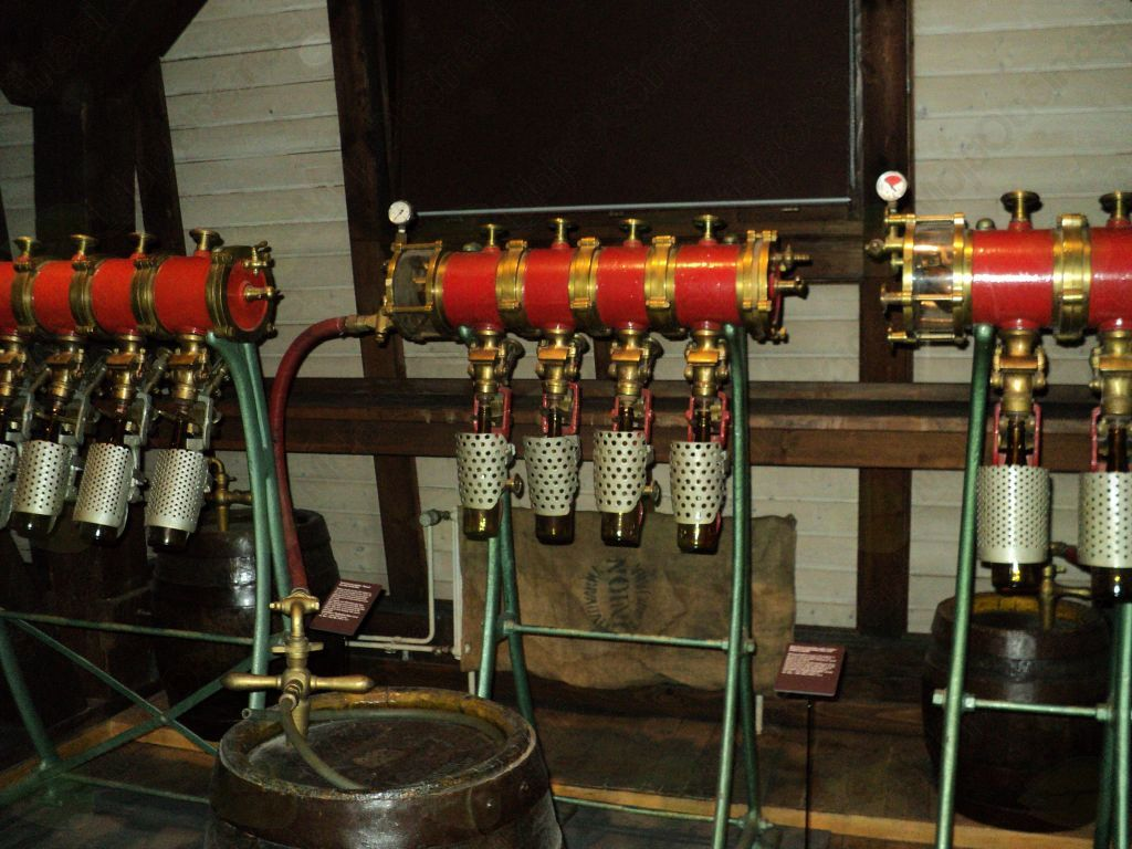 Ogled pivovarne Union
