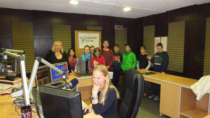 Spoznavamo podjetništvo in poklice z osnovnošolci iz OŠ Mislinja