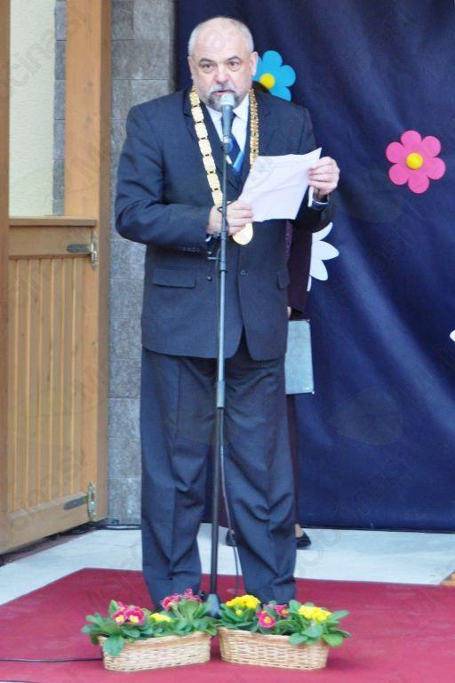 Pozdravni nagovor župana Siniša Germovška.